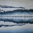 HAYWARD LAKE, 30x48
