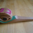 ANNAS HUMMINGBIRD rattle -red cedar -4X11X2.jpg