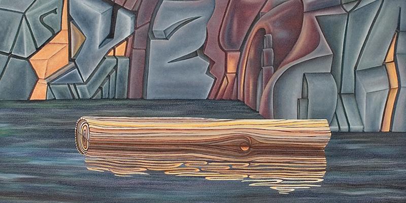 ALOUETTE LOG -detail